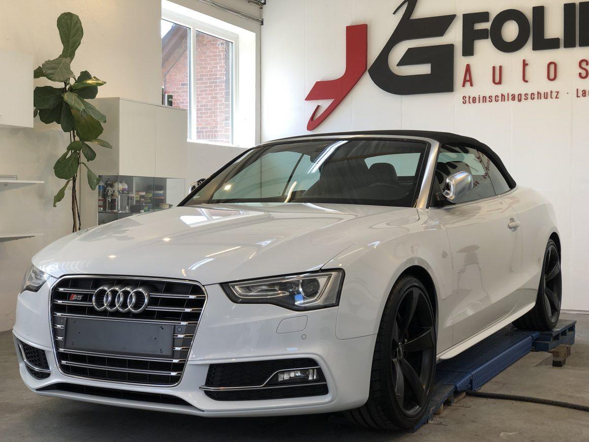 Audi S5 Cabriolet, Lackaufbereitung & Nano Versiegelung