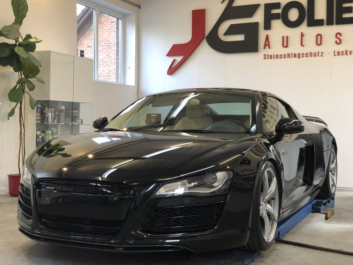 Audi R8, Lackaufbereitung, Innenreinigung