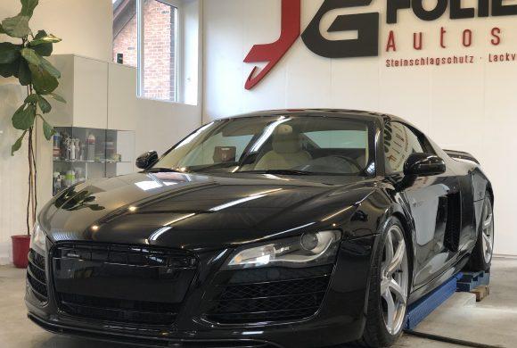 Audi R8 / Lackaufbereitung / Innenreinigung