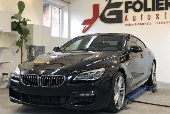 BMW 6er., Lackaufbereitung