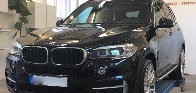 BMW X5, Leasingrückläufer (Lackaufbereitung, Teillackierung, Innenreinigung)