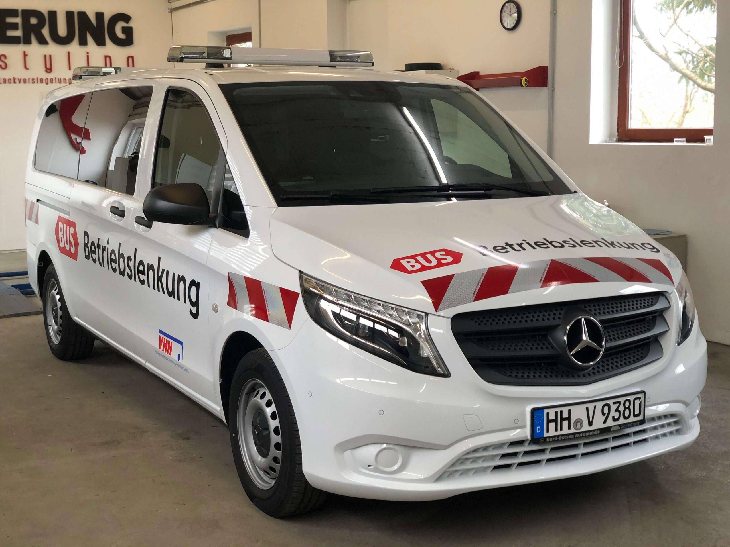 Werbebeschriftung in Hamburg / Fahrzeugbeschriftung