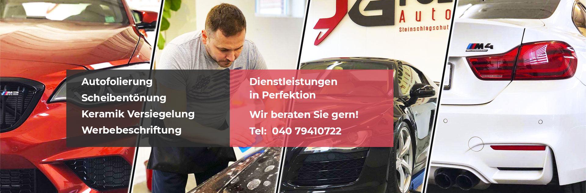 Scheiben tönen in Hamburg Autofolierung